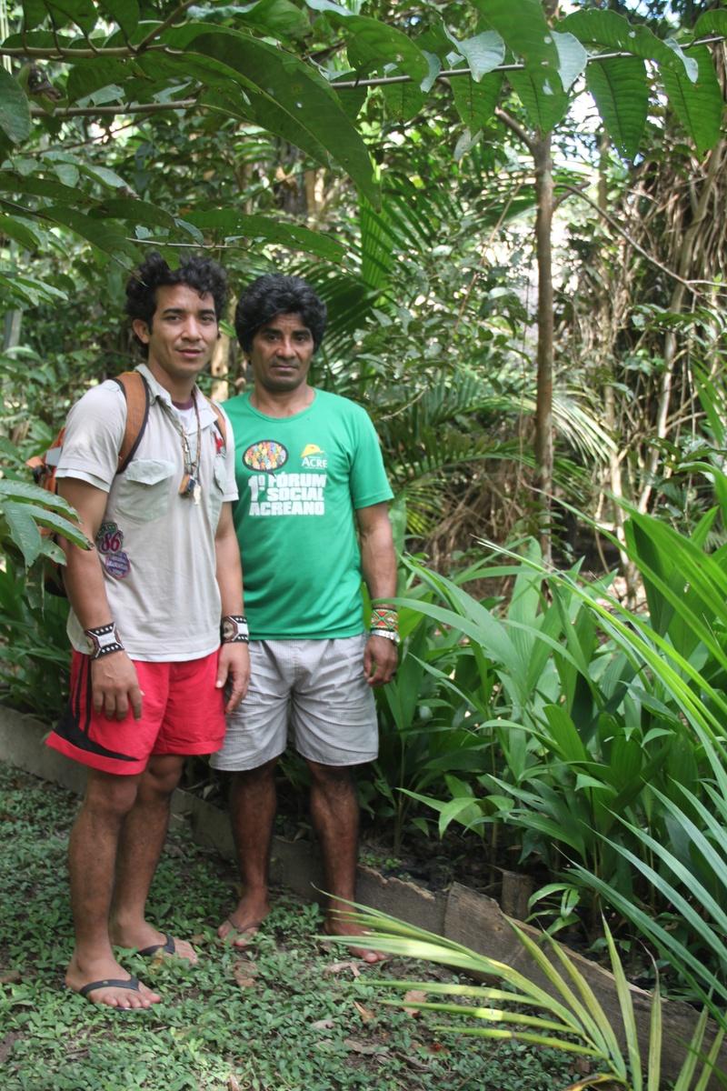 Visita aos Reflorestamento